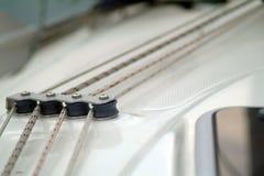 Cuerdas de Yatch Fotografía de archivo libre de regalías