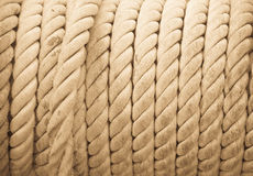 Cuerdas en fila Imagenes de archivo