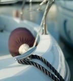 Cuerdas en manivela imagen de archivo libre de regalías