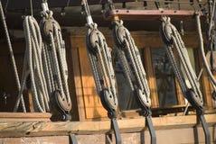Cuerdas marinas Fotografía de archivo libre de regalías