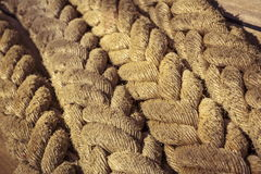 Cuerdas marinas Fotografía de archivo
