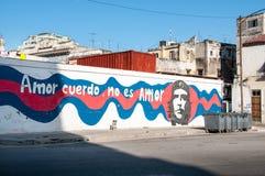 Cuerdo d'Amor aucun amor d'es, La Havane de dessin Image stock