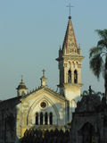 Cuernavaca cathedral. Church in Mexico Stock Image