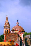 Cuernavaca cathedral I Royalty Free Stock Photo