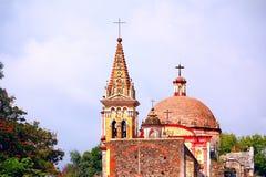 Cuernavaca cathedral II Royalty Free Stock Image