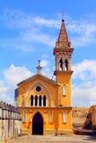 Cuernavaca cathedral III Stock Image