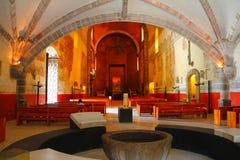 Cuernavaca cathedral V. Interior of the Cuernavaca Cathedral, Morelos, Mexico Stock Photo