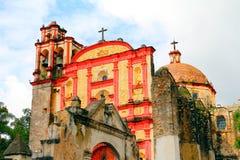Cuernavaca cathedral VI. San Francisco de Asis Chapel, located in the Cuernavaca Cathedral complex, Morelos, Mexico Stock Photos