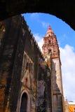 Cuernavaca cathedral VII Royalty Free Stock Photos