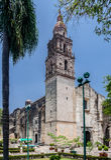 Cuernavaca domkyrka Royaltyfri Fotografi