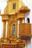 Cuernavaca domkyrka XI Arkivfoton