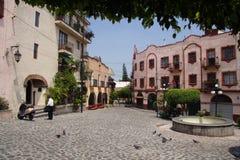 cuernavacamexico plaza Royaltyfri Fotografi