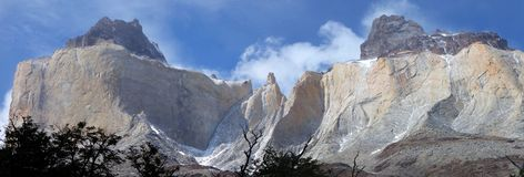 Cuernos del Paine Imagem de Stock