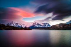 Cuernos Del Paine foto de archivo libre de regalías