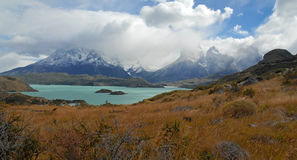 Cuernos del Paine, Patagonia, Chile Stock Photos