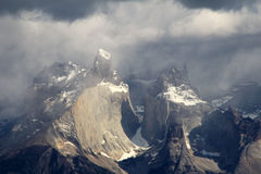 Cuernos Paine Grande, Torres Del Paine National Park, Patagonia, Chile. Southamerica royalty free stock images