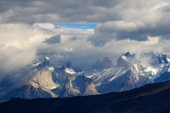 Cuernos Paine Grande, Torres Del Paine National Park, Patagonia, Chile. Southamerica stock images