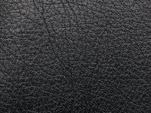 Cuero áspero negro Foto de archivo