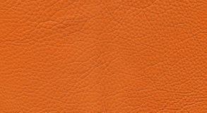 Cuero anaranjado Imágenes de archivo libres de regalías