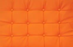 Cuero anaranjado brillante Fotografía de archivo libre de regalías