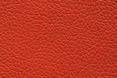 Cuero artificial anaranjado anaranjado altamente saturado con textura grande imagenes de archivo