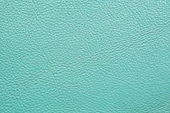 Cuero azul claro Imágenes de archivo libres de regalías