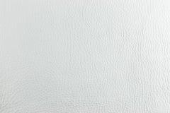 Cuero blanco Imagen de archivo libre de regalías