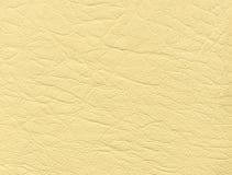 Cuero blanco Foto de archivo libre de regalías