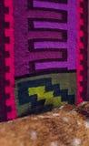 Cuero colorido de la textura y de la piel Fotografía de archivo libre de regalías