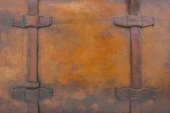 Cuero de Brown Imágenes de archivo libres de regalías