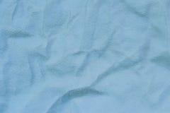 Cuero de gamuza azul Foto de archivo libre de regalías