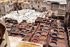 Cuero de Marruecos, Maroc Imagenes de archivo