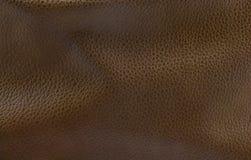 Cuero marrón oscuro Imágenes de archivo libres de regalías