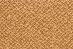 Cuero marrón sintético para el fondo fotos de archivo