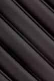 Cuero negro Foto de archivo libre de regalías