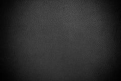 Cuero negro Imagen de archivo libre de regalías