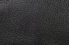 Cuero negro Fotografía de archivo libre de regalías