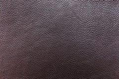 Cuero negro del graine Fondo fabricación accesorios Foto de archivo