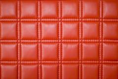 Cuero rojo Fotografía de archivo