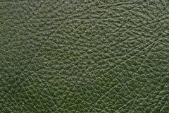 Cuero verde oscuro foto de archivo