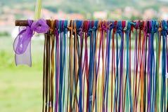 Cueros coloridos Foto de archivo