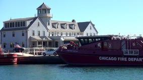 Cuerpo de bomberos de Chicago - ciudad de Chicago almacen de video
