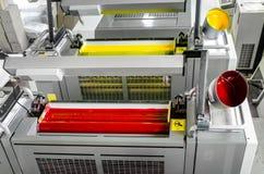 Cuerpo de impresión compensado de la máquina de la impresión foto de archivo libre de regalías