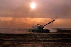 Cuerpo de la artillería - Israel Fotografía de archivo