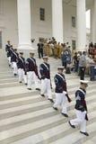 Cuerpo de la tecnología de Virginia de cadetes Fotos de archivo libres de regalías
