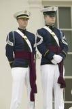 Cuerpo de la tecnología de Virginia de cadetes Fotos de archivo