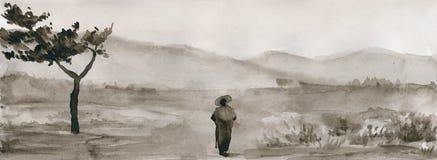 Cuerpo de la tinta Imagen de archivo libre de regalías