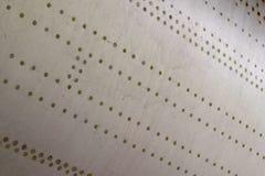 Cuerpo del aluminio de los aviones fotografía de archivo