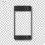 Cuerpo del teléfono sin la pantalla ilustración del vector