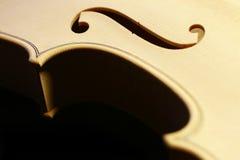 Cuerpo del violín Foto de archivo libre de regalías